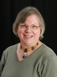 Photo of Barbara Mathews, board member of Reclaim The Records