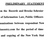 Reclaim The Records vs. New York State Department of Health