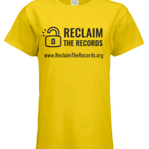 Reclaim The Records T-Shirt